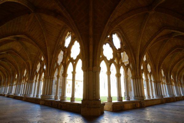 Le splendide cloître qui jouxte la cathédrale de Bayonne