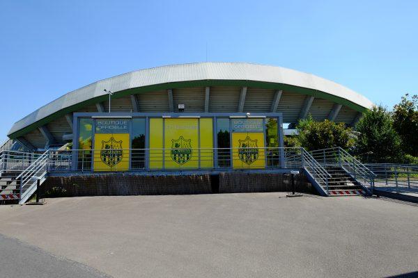 Le stade de la Beaujoire à Nantes