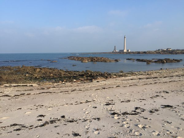 L'immense phare de Gatteville dans l'Est du Cotentin