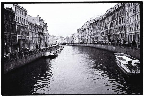 L'un des canaux de la ville de Saint-Pétersbourg