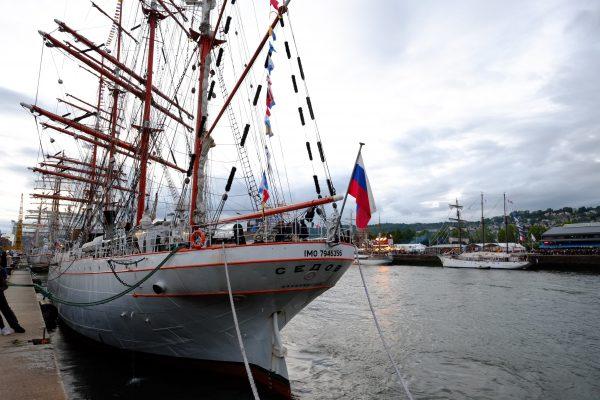 117 mètres de long pour ce voilier battant pavillon russe