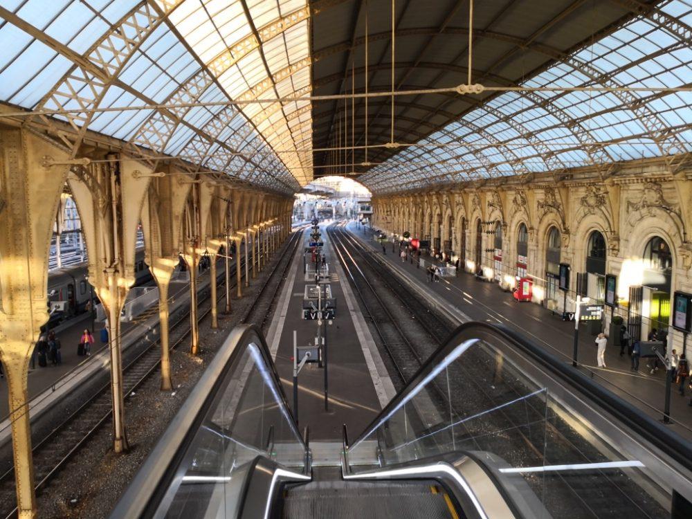 la verrière de Nice et l'une des plus grandes gares de France