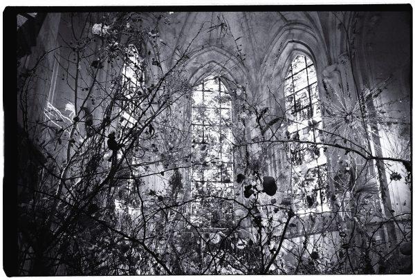 Une installation artistique au coeur de la chapelle du château de Chaumont