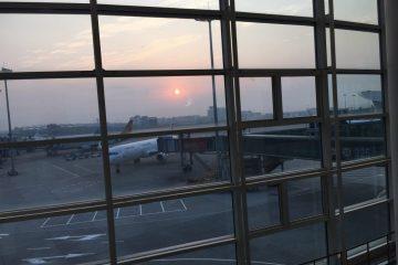 Escale à l'aéroport de Hangzhou