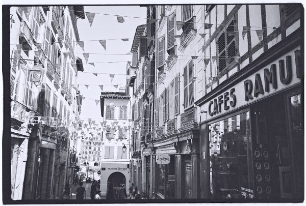 Café Ramuntcho, rue du Pilori à Bayonne
