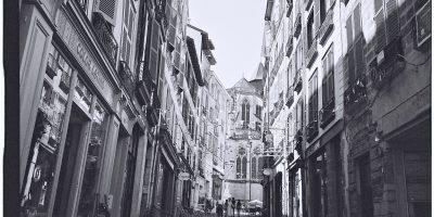 La rue du Pilori l'une des plus belles rues de Bayonne