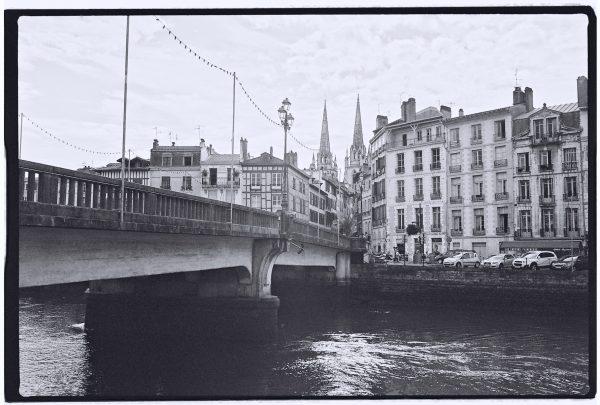 Le long de la Nive l'un des lieux les plus romantiques de Bayonne