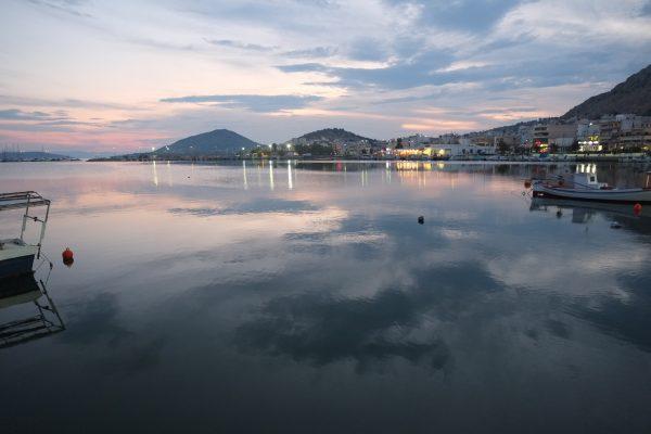 Le port de Salami non loin d'Athènes