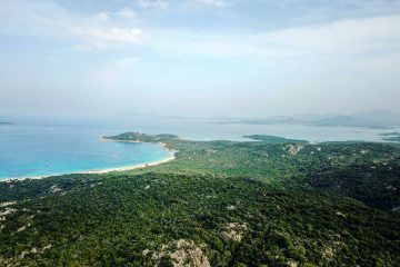 Les côtes de la Sardaigne
