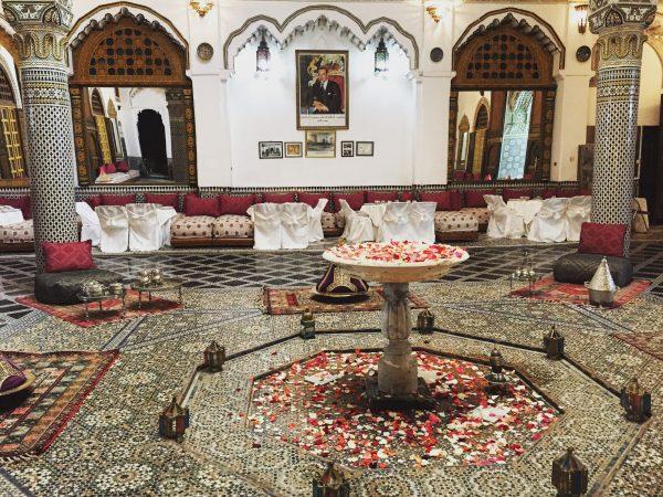 L'un des splendides palais de Fès au Maroc