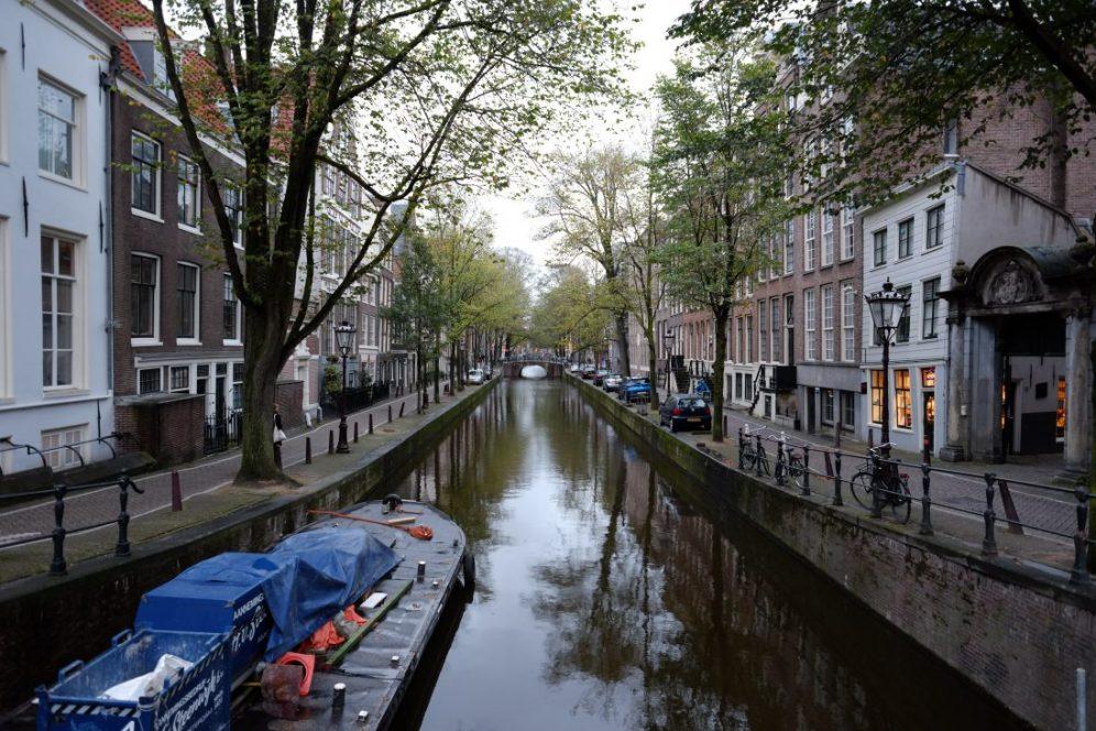 Amsterdam, la plus grande villes de Pays Bas