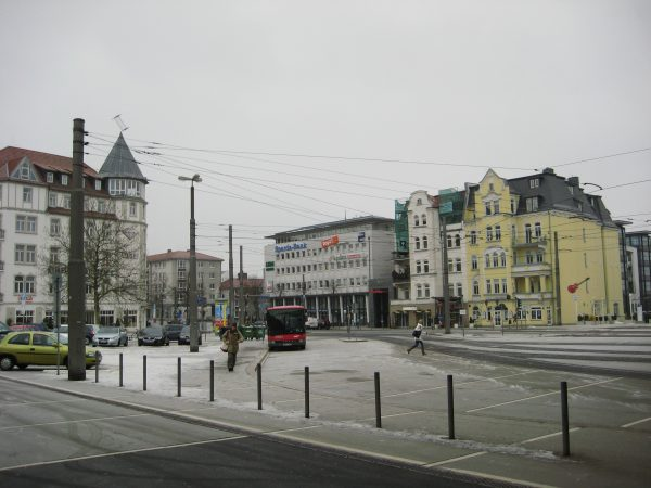L'Allemagne en hiver, l'un des plus grands pays d'Europe
