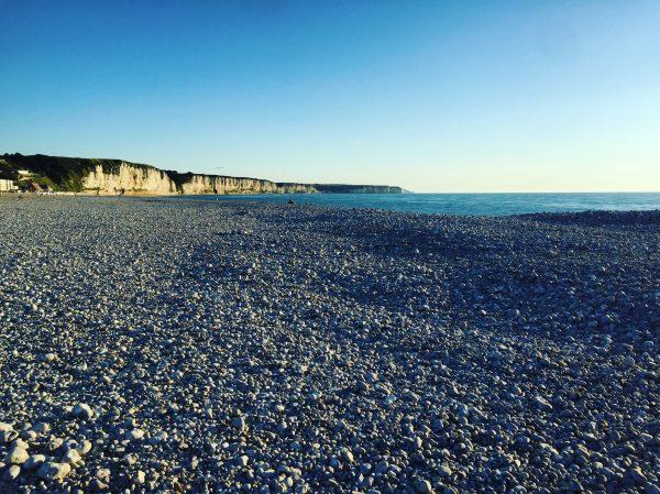 La côte d'Albâtre du côté de Fécamp, en Haute-Normandie