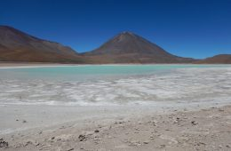 La laguna Verde en Bolivie, l'un des plus beaux pays du monde