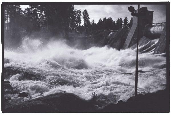 La station hydro-électrique d'Imatra en Finlande