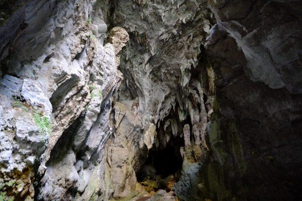 Au fond du canyon une curiosité géologique, Gorges de Kakuetta