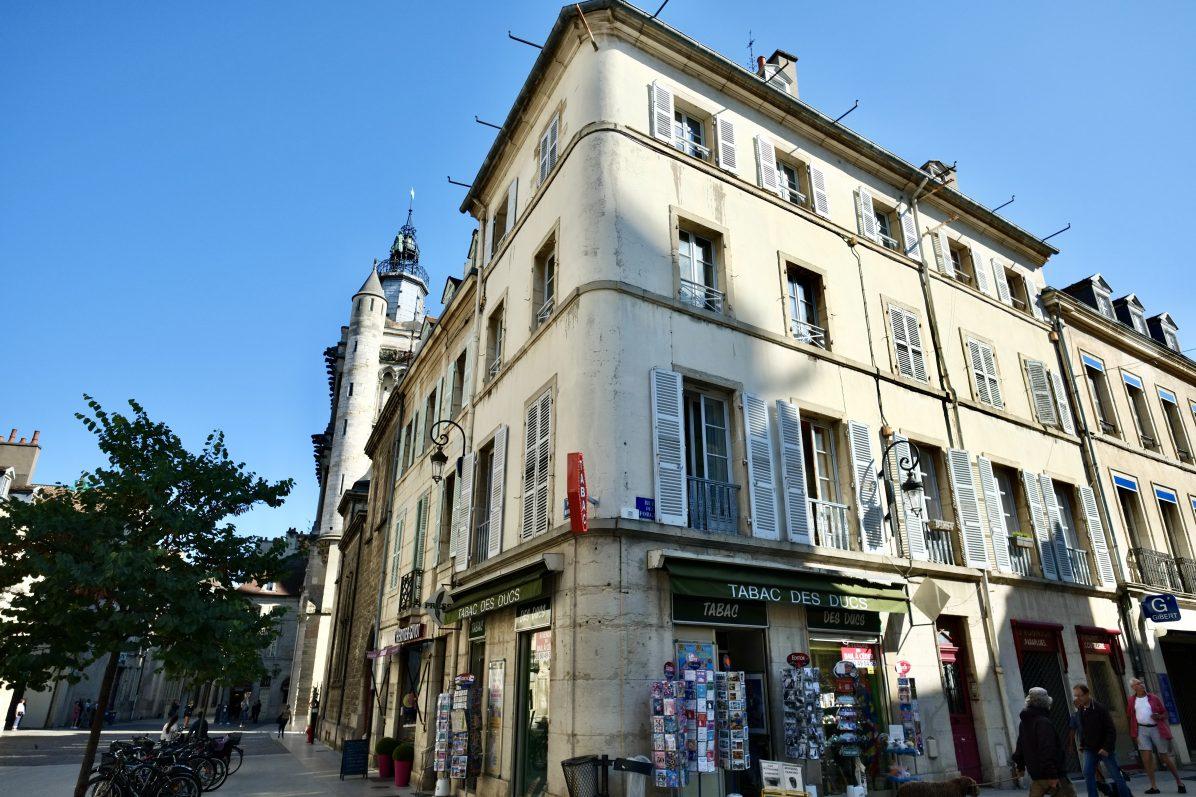 Dans les rues du centre ville de Dijon