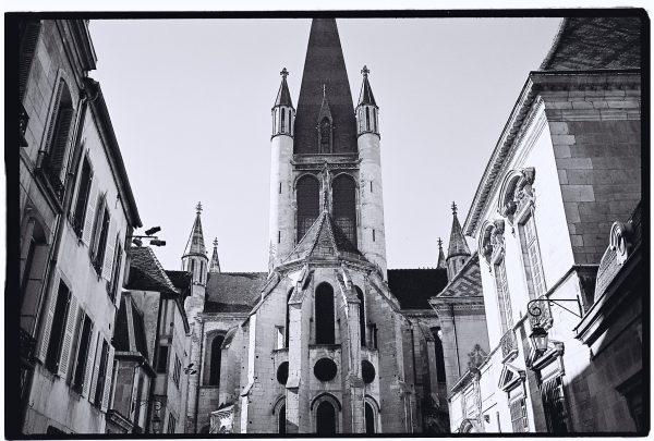 L'église Notre Dame à Dijon