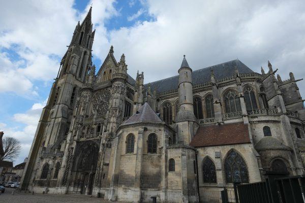 La cathédrale de Sens dans l'Oise