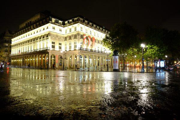 La comédie française à Paris la ville lumière