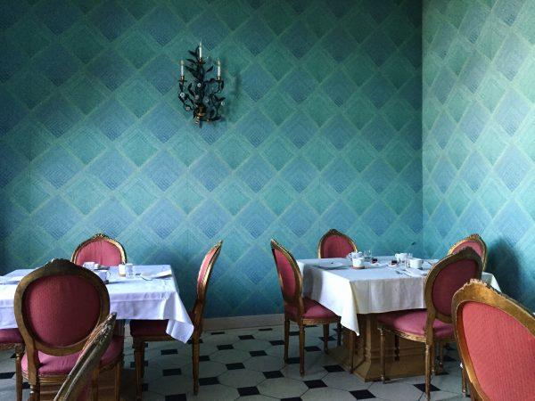La salle des petits déjeuners du château de Raray