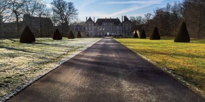 Le Château de Raray dans l'Oise
