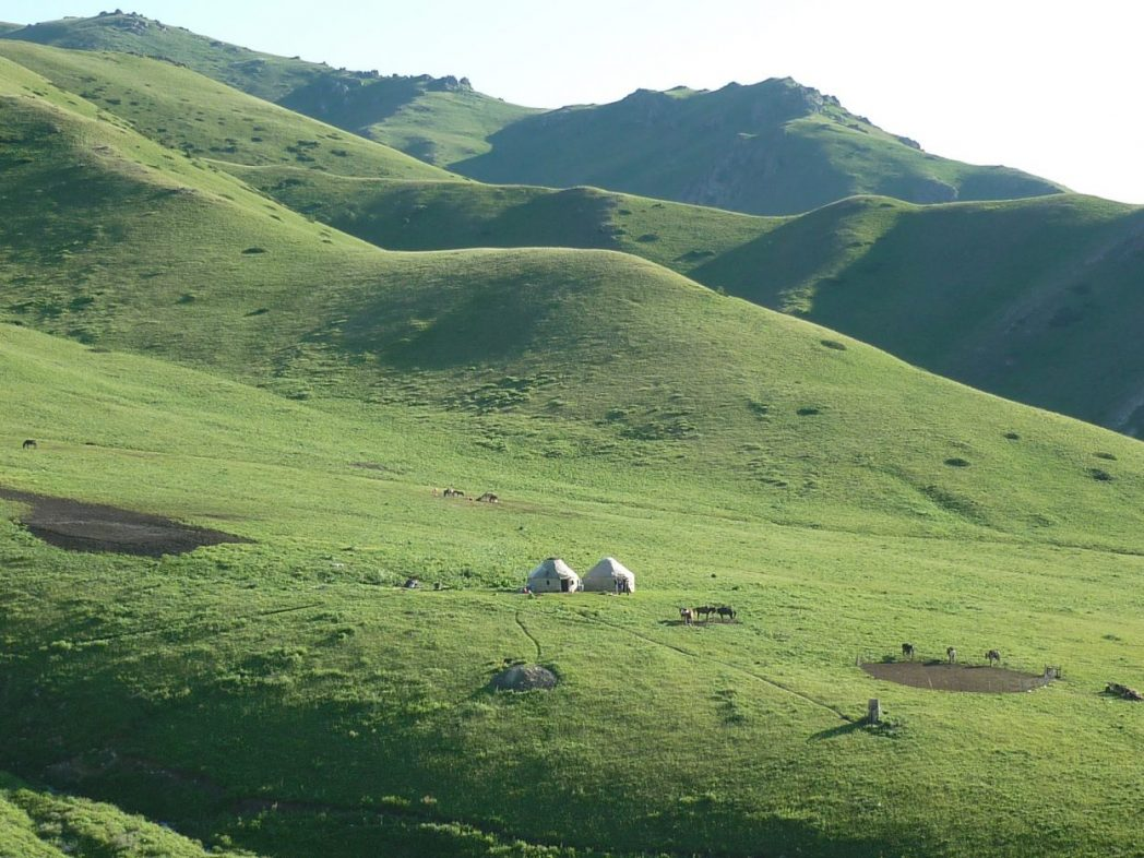 Le Kirghiztan l'un des pays les plus pauvres d'Asie