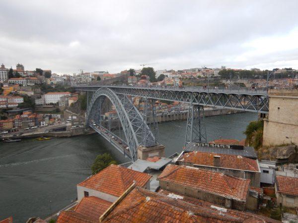 Le pont Louis 1er vu depuis Vila Nova de Gaia