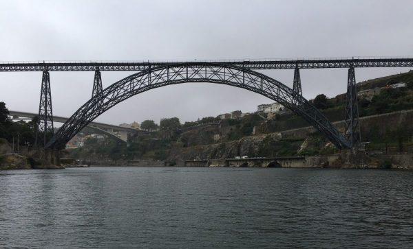 Le pont désaffecté de Maria Pia