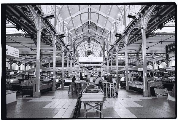 Les halles du marché de Dijon