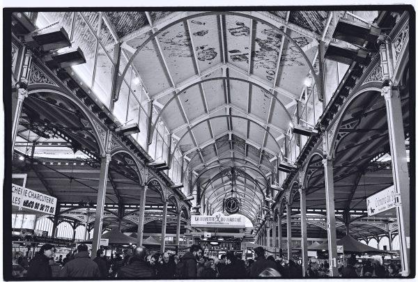 Les splendides halles du centre de Dijon