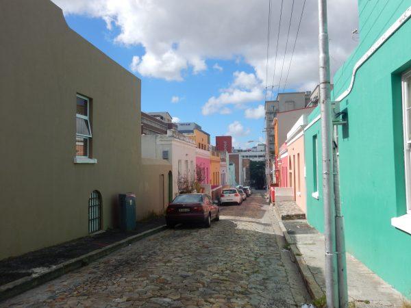 L'une des ruelles de la ville du Cap en Afrique du Sud