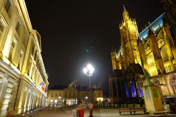 Metz la nuit prend une autre dimension