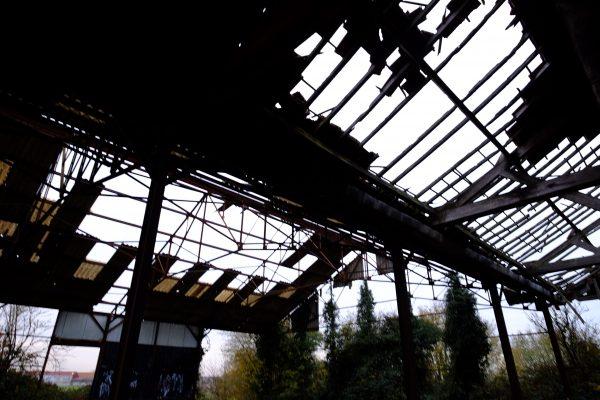 Un hall agricole laissé à l'abandon dans l'Oise #URBEX