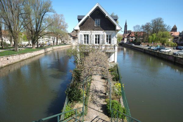 Une maison insolite dans le quartier de la petite France à Strasbourg