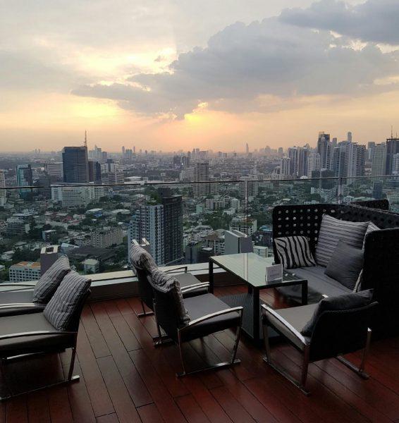 Une vue imprenable sur Bangkok