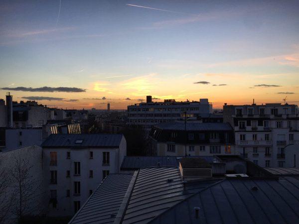 Une vue sur Paris depuis le quartier de Gambetta