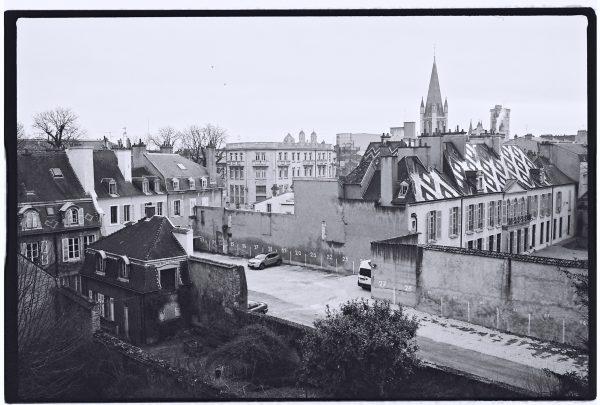 Vue panoramique sur la ville de Dijon