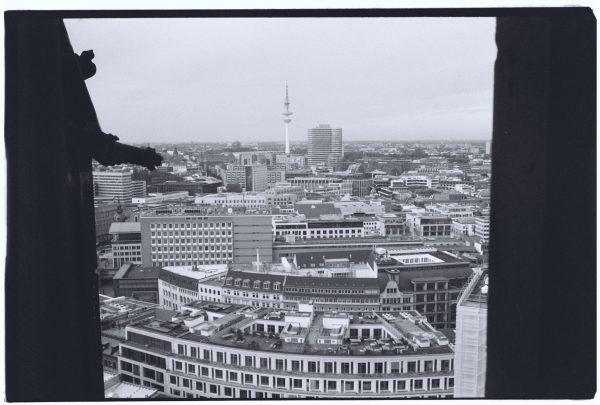 Vue sur Hambourg depuis l'église Saint-Nicolas