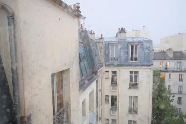 Vue sur les toits de Paris une vue très parisienne