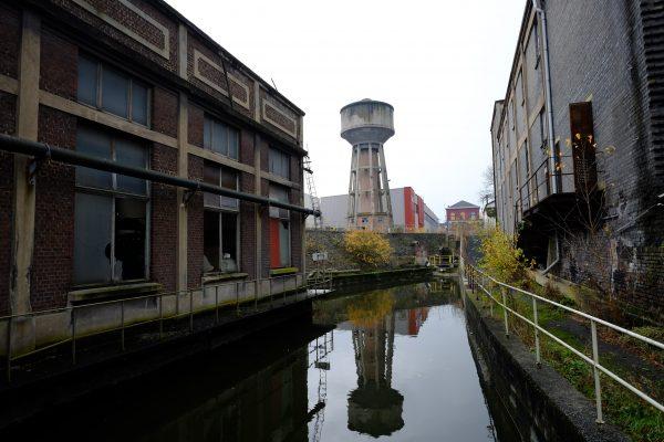 Exploration urbaine à Charleroi en Belgique