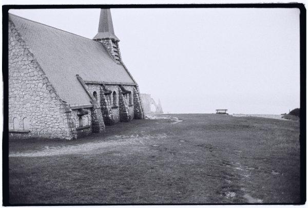 La belle chapelle d'Etretat