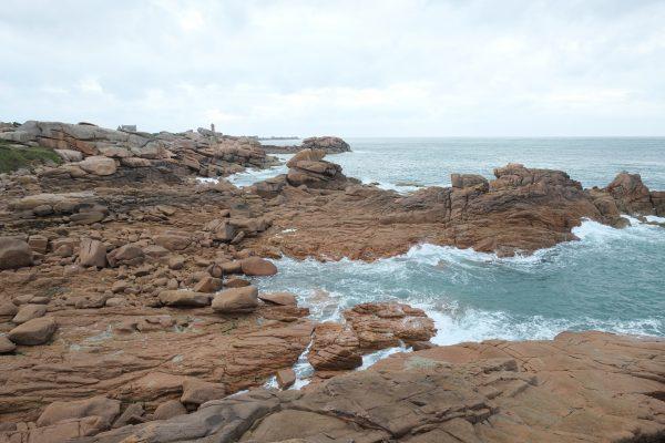 La côte de granit rose entre Ploumanac'h et Trégastel