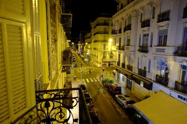 La rue Dalpozzo à Nice