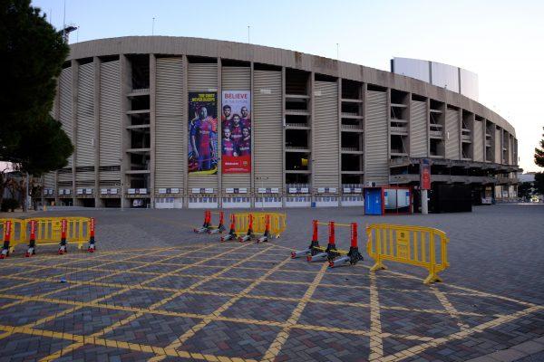 Le Camp Nou à Barcelone, l'un des plus grands stades du monde