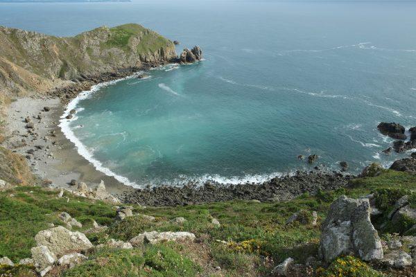 Le nez de Jobourg dans le nord ouest du Cotentin