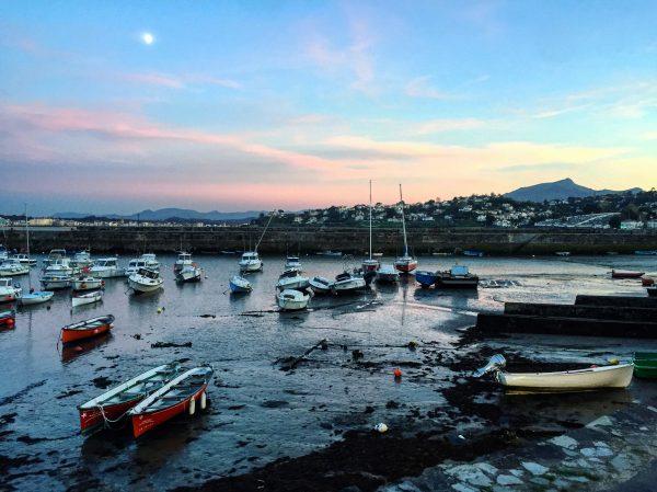 Le petit port de Soccoa de la commune de Ciboure