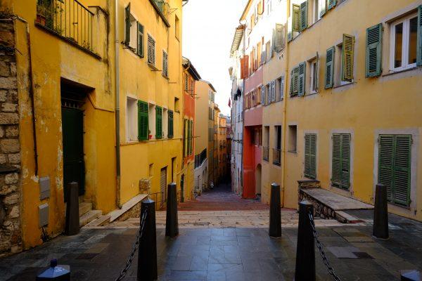 Le vieux Nice, le quartier le plus coloré de la ville
