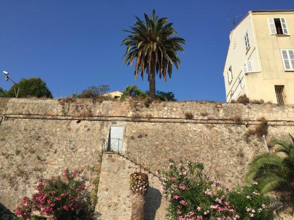 Les remparts de la citadelle d'Ajaccio
