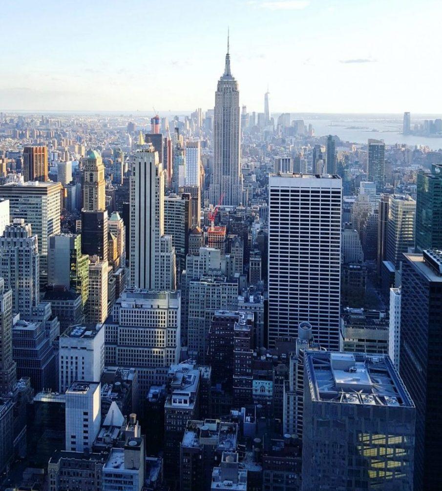 New York, une véritable forêt de building